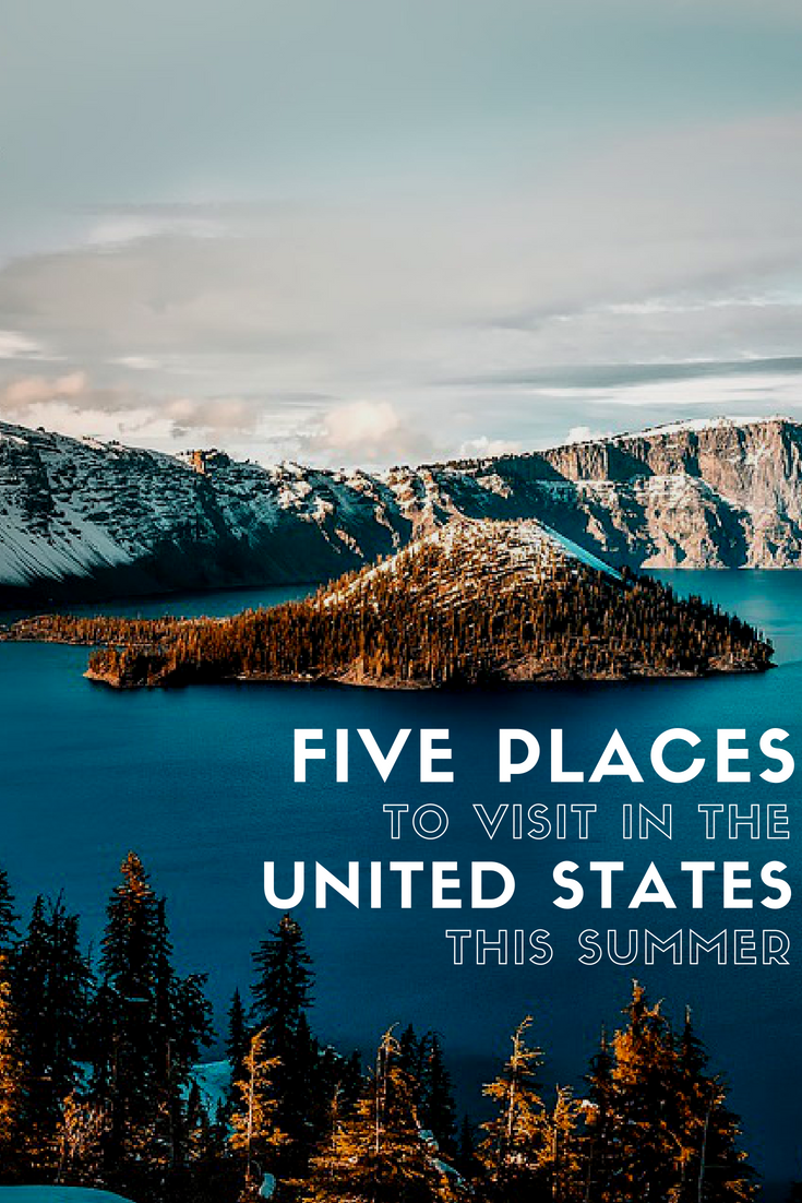 Places to travel in the us during summer