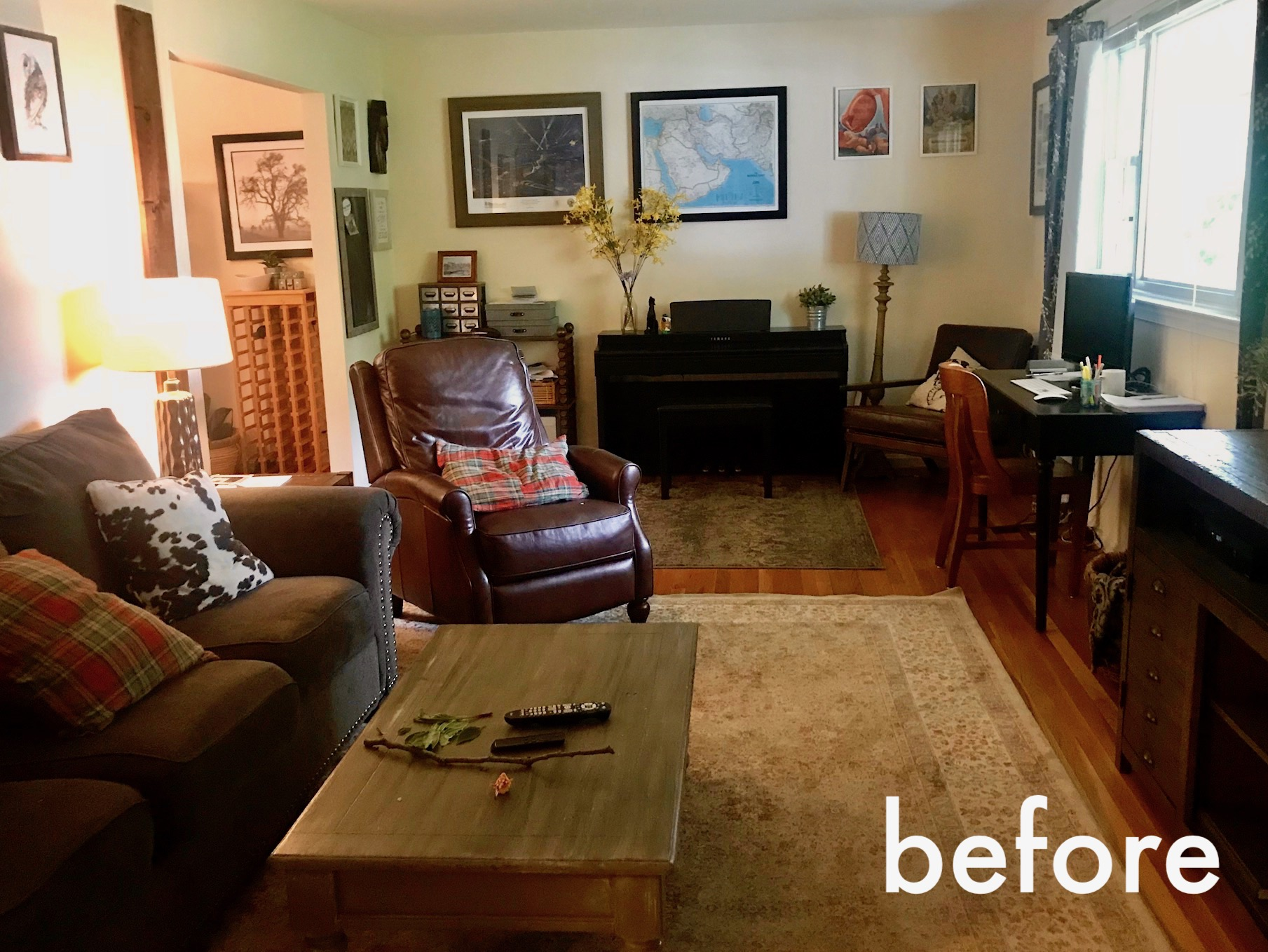 Rearranging Furniture Before And After And Then We Laughed