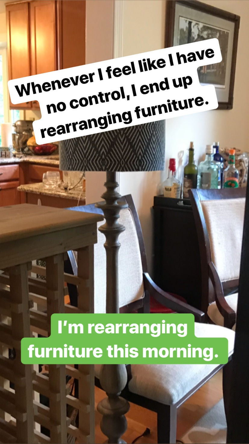 Rearranging Furniture Before And After A Room Interrupted u2013 Adventures in Rearranging Furniture | And Then We  Laughed