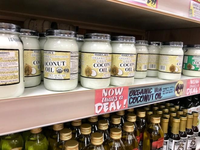 Trader Joe's Organic Virgin Coconut Oil