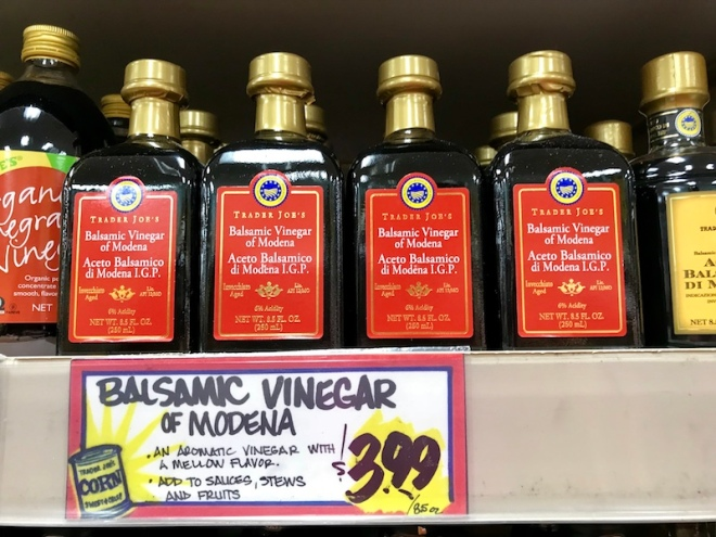 Trader Joe's Balsamic Vinegar of Modena