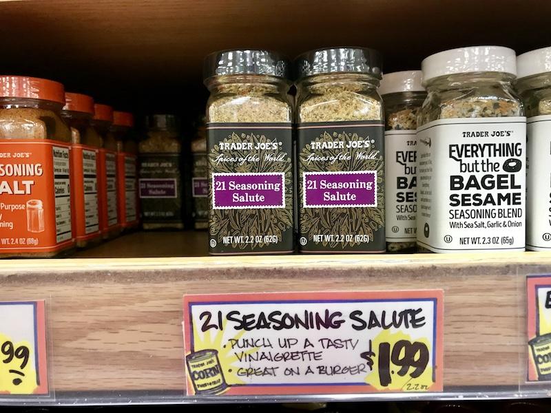 Trader Joe's 21 Seasoning Salute