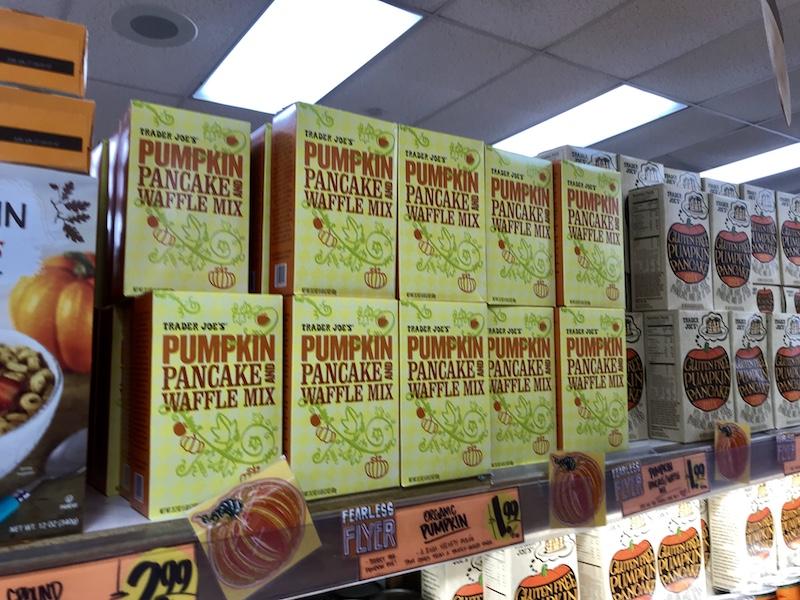 pumpkin and pancake waffle mix