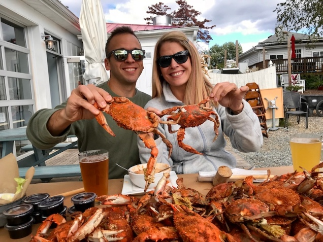 Maryland blue crab at The Point Crab House