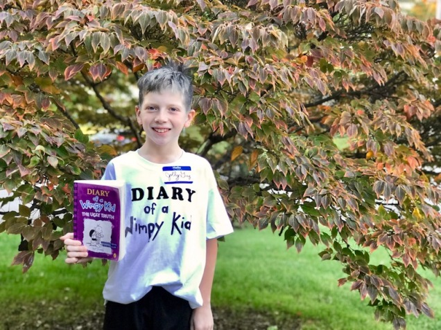 Greg Heffley costume Diary of a Wimpy Kid