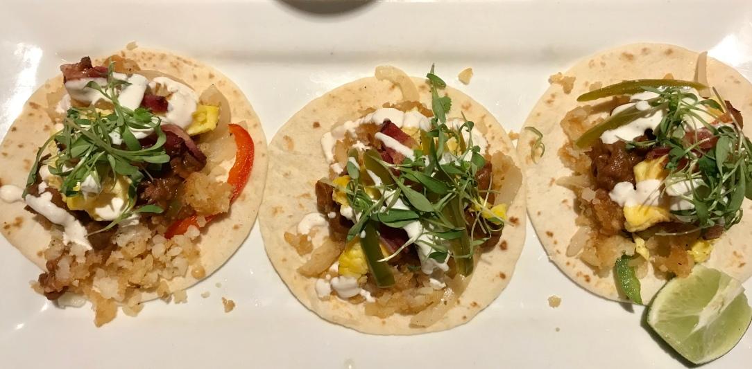 City Tap Room breakfast tacos