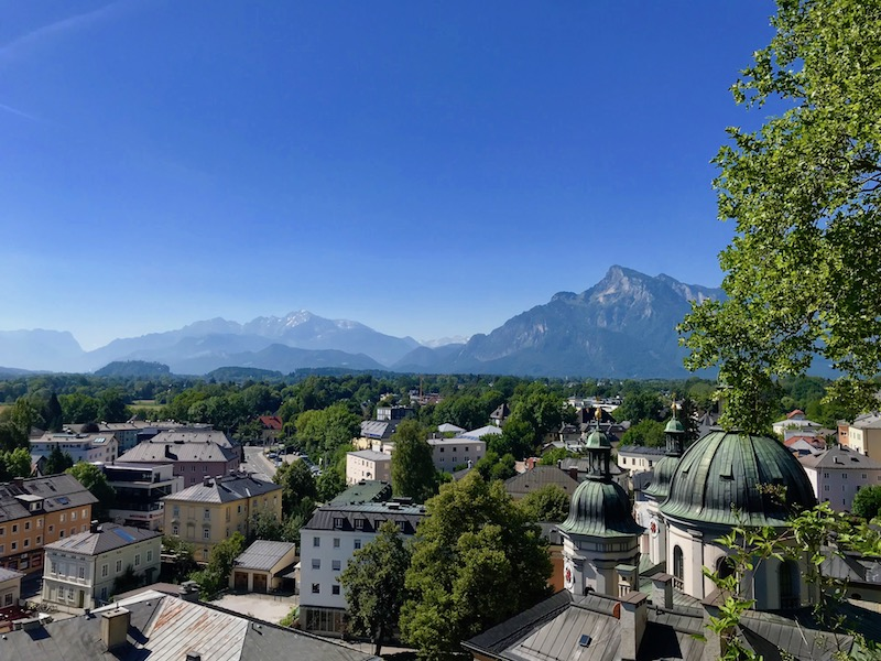 city view of Old Salzburg