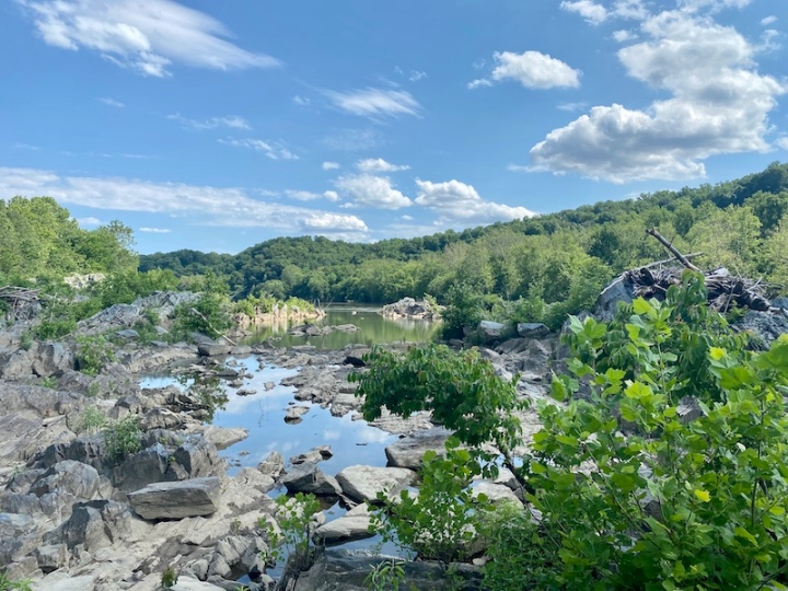 Camping on the Billy Goat Trail