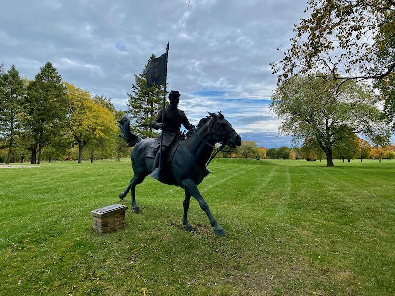 General Sheridan statue