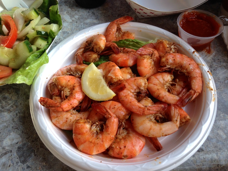 provisions seafood steamed shrimp