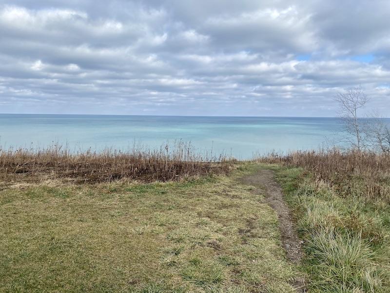 Lake Michigan in Fort Sheridan