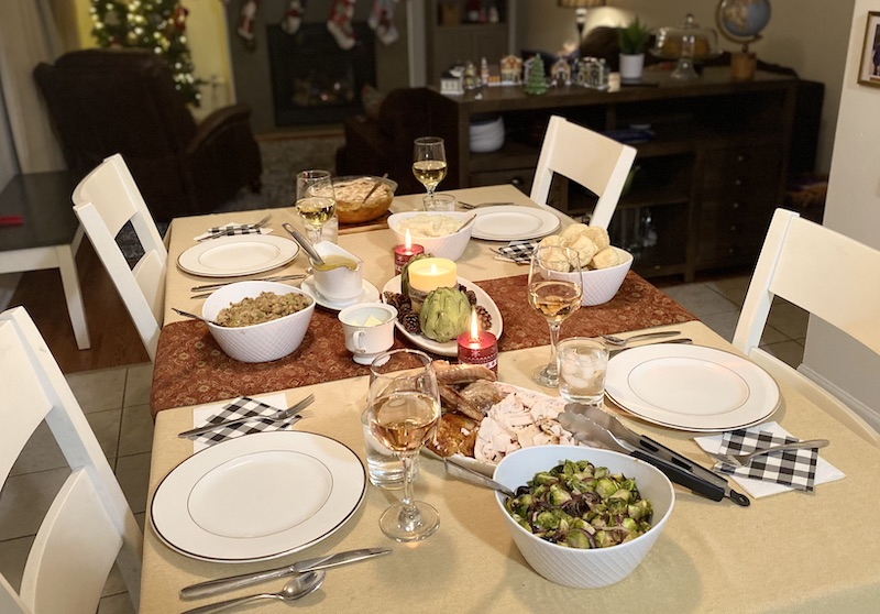 Thanksgiving meal military housing