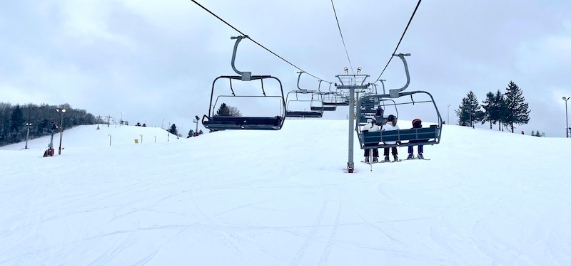Skiing at Wilmot Ski Resort (During a Pandemic)