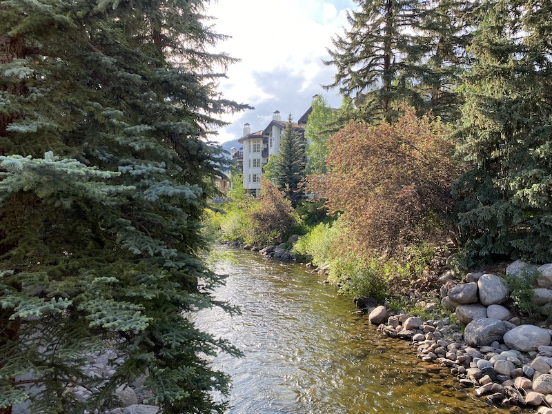 Gore Creek in Vail