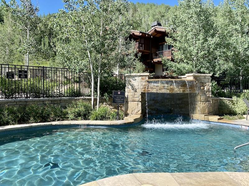 The Lodge at Vail spa swimming pool