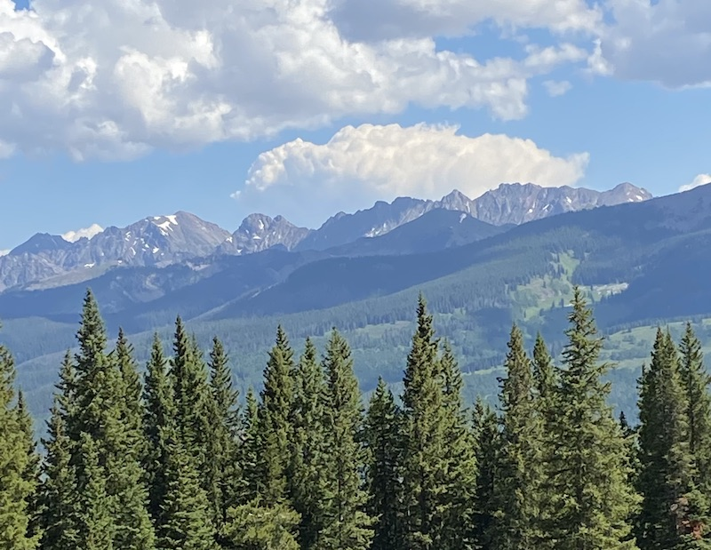 View from Vail Mountain